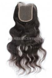 Peruvian Virgin Hair Lace Closure Natural Straight 4x4inches