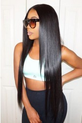 250% Density Lace Front Wigs Indian Remy Hair Silky Straight Big Bomb Hair Seriously Thick Look
