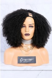 Textured U-Part Wigs Kinky Coily ( For 4b and 4c textures)