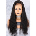 Natural Straight Side Part 360 Lace Wig.[Advanced Pre-Bleached Knots,Pre-Plucked Hairline,Pre-Added Removable Elastic Band]