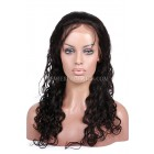Peruvian Curl Indian Remy Hair Glueless Lace Front Wigs