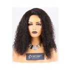 Clearance Silk Top Full Lace Wig,10mm Curl,Malaysian Virgin Hair,Natural Color,20 inches,120% Normal Density,Medium Cap Size,Medium Brown Silk