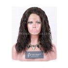 Clearance 360 Lace Wig,Loose Curl,Indian Remy Hair,Natural Color,14 inches,150% Thick,Light Brown Lace,