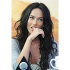 Megan Fox Sexy Loose Wavy 360°Anatomic Lace Wigs, 150% Thick Density ,Indian Remy Hair,Pre-plucked Hairline