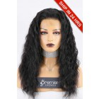 """Super Deal 4.5"""" Lace 360 Wig,Indian Remy Hair 1B# Color,18 inches Deep Body Wave 150% Thick Density, Medium Size,Light Brown Lace"""