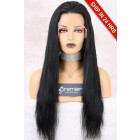 Super Deal Full Lace Wig Indian Remy Hair Natural Straight,Medium  Cap Size,120% Normal Density