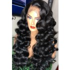 Charming Wave Anatomic 360° Lace Wigs Brazilian Virgin Hair 150% Thick Hair Density,Pre-plucked Hairline