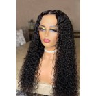 Affordable Real Scalp Silk Base Middle Part Wig Deep Wave Indian Remy Human Hair