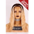 Ciara Style Bob Cut Lace Front Wig,Virgin Human Hair Ombre Blonde Color 14 inches,Average Size