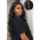 Tatyana--Gorgeous Wavy Hair Real Scalp Silk Top Lace Front Wig