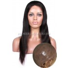 Full Thin Skin Wigs 100% Human Hairs Silky Straight { Not In Stock,Production Time 60 working days }