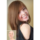 Alopecia Totalis Women's Wigs,100% Virgin Human Hair Full Lace Straight Style{ Not In Stock,Production Time 60 working days }