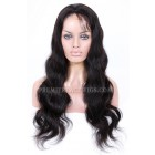 Brazilian Virgin Hair Body Wave Glueless Lace Front Wigs
