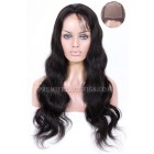 Silk Top Full Lace Wigs Body Wave Indian Remy Hair