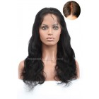 Body Wave Silk Top Lace Front Wig,Indian Remy Hair