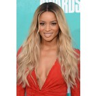 Ciara Long Ombre Blonde Style 22inches Wavy Virgin Hair Lace Wigs