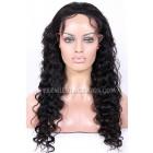 Brazilian Virgin Hair Deep Body Wave Glueless Lace Front Wigs