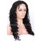 Deep Body Wave Chinese Virgin Hair Glueless Lace Front Wigs