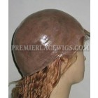 Custom Made Full PU Thin Skin Wigs 100% Human Hairs Silky Straight [Production Time 90 working days]