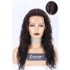 Real Scalp Silk Top Lace Front Wigs Loose Curls Indian Remy Human Hair,Open-Wefted More Breathable