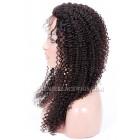 Malaysian Virgin Hair Full Lace Wigs Kinky Curl