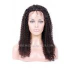 Brazilian Virgin Hair Full Lace Wigs Kinky Curl