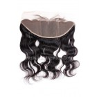 Indian Virgin Hair Lace Frontal Body Wave ,13x4inches