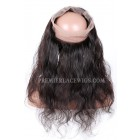 Peruvian Virgin Hair 360°Circular Lace Frontal Body Wave