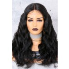 250% Density Affordable Lace Wig Body Wave Indian Remy Hair,Average Cap Size {Production Time 10 working days}