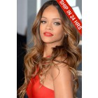 Rihanna Lace Front Wig,Blonde Ombre Wavy Hair 20 inches