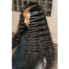 "Deep Wave 6"" Deep Part Lace Frontal Wig [ Pre-Bleached Knots,Pre-Plucked Hairline,Removable Elastic Band]"