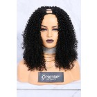 Textured U-Part Wigs Kinky Curly ( For 3b and 3c textures){Production Time 2 Weeks}