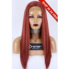 """Extra Small Size 20"""" Circumference,Full Lace Wig Chinese Virgin Hair 35# Color 20 inches Silky Straight 180%"""
