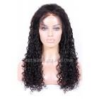 Brazilian Virgin Hair Full Lace Wigs Water Wave