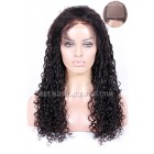 Silk Top Full Lace Wigs Water Wave Indian Remy Hair