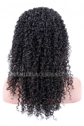 Brazilian Virgin Hair Full Lace Wigs 10mm Curl Style