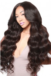 250% Density Lace Front Wigs Indian Remy Hair Body Wave Big Bomb Hair Seriously Thick Look