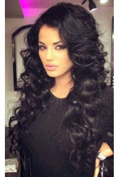 Deep Body Wave Indian Remy Hair 360 Lace Wigs,150% Thick Density ,Pre-Plucked Hairline