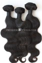 3 Bundles Deal Peruvian Virgin Hair Natural Color Body Wave Hair Extension