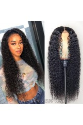 Full Lace Wigs 100% Hand-Tied, Wet Wavy Indian Remy Human Hair [Pre-order Now,Ship On October]