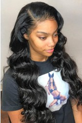"Hailey--Invisible HD Transparent Lace,Single Knots,6"" Lace Frontal Wig,100% Cuticles Aligned Virgin Hair,Body Wave"