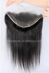 "Invisible Transparent HD Lace Frontal,13""x6"" 100% Cuticles Aligned Virgin Hair,Silky Straight"