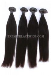 Peruvian Virgin Hair Natural Color ,Silky Straight, Hair Weaves 4 Bundles Deal