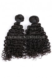 Water Wave Natural Color Peruvian Virgin Hair Weave 2 Bundles Hair Deal