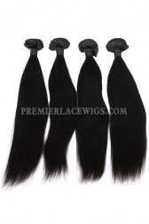 Indian Virgin Hair Weaves Silky Straight 4 Bundles Deal