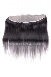 Peruvian Virgin Hair Lace Frontal Yaki Straight ,13x4inches