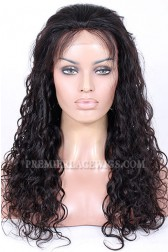 Brazilian Virgin Hair Loose Curl Glueless Lace Front Wigs