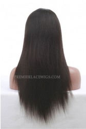 "Silky Straight 13""x3"" Lace Frontal Wig Chinese Virgin Hair"