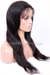 Full Lace Wigs Chinese Virgin Hair Natural Straight