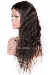 Brazilian Virgin Hair Full Lace Wigs Natural Wave